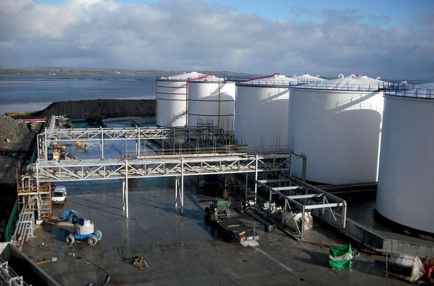 Foynes Oil Terminal, Foynes